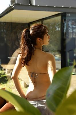 Kazusa Okuyama Swimsuit Bikini Gravure Evolving Goddess Vol1 2021003