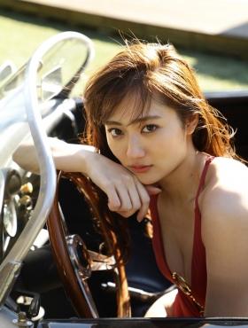 Kazusa Okuyama Swimsuit Bikini Gravure Evolving Goddess Vol1 2021011