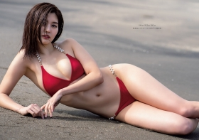 Yume Hayashi swimsuit bikini gravure Amazing proportions are the ideal type for girls 2021002