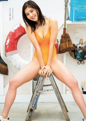 Yume Hayashi swimsuit bikini gravure Amazing proportions are the ideal type for girls 2021003