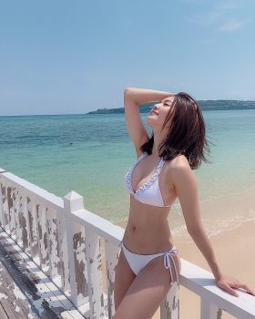 Yume Hayashi swimsuit bikini gravure Amazing proportions are the ideal type for girls 2021025