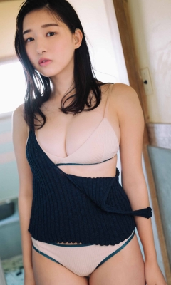 Yurika Wagatsuma Swimsuit Bikini Gravure Angel with Hearing Aid - Feel the Spring Breeze 2021010