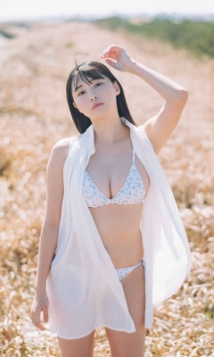 Yurika Wagatsuma Swimsuit Bikini Gravure Angel with Hearing Aid - Feel the Spring Breeze 2021011