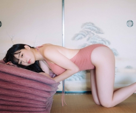 Yurika Wagatsuma Swimsuit Bikini Gravure Angel with Hearing Aid - Feel the Spring Breeze 2021012