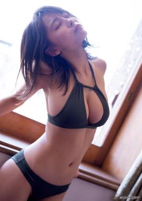 Rio Teramoto swimsuit bikini gravure From girl to adult002