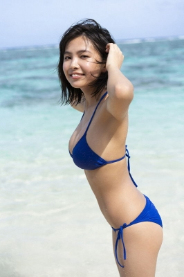 Rio Teramoto swimsuit bikini gravure From girl to adult020