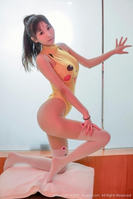 Pokemon Pikachu Leotard Swimsuit High Leg025