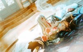 Swimsuit Bikini Gravure Kama FateGrand Order FateGrand Order Bunny Girl Cosplay008