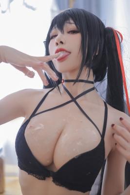 Black Swimsuit Bikini Oho Azur Lane001