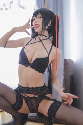 Black Swimsuit Bikini Oho Azur Lane007