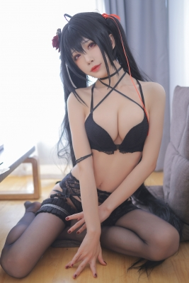 Black Swimsuit Bikini Oho Azur Lane012