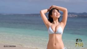 Aika Sawaguchi Swimsuit bikini gravure High school graduation this spring 2021025