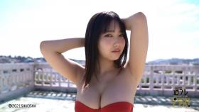 Aika Sawaguchi Swimsuit bikini gravure High school graduation this spring 2021048