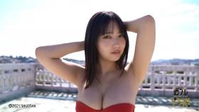 Aika Sawaguchi Swimsuit bikini gravure High school graduation this spring 2021049