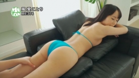 A beautiful girl with black hair and white COLORz swimsuit bikini gravure, full-throttle gravure debut026