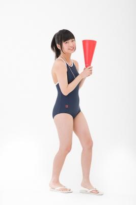 Yuka Himekawa School swimsuit gravure005