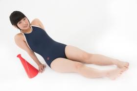 Yuka Himekawa School swimsuit gravure035