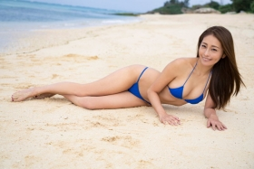 Asami Kumakiri Swimsuit Bikini Gravure She provokes you with her eyes bewitching shot 2021011