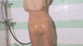 Asami Kumakiri Swimsuit Bikini Gravure She provokes you with her eyes bewitching shot 2021030