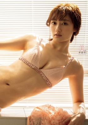 Kazusa Okuyama Swimsuit Bikini Gravure Evolving Beauty God 2021007