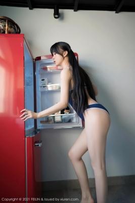 Sexy school swimsuit gravure of Momokako011