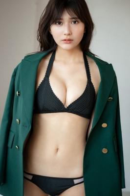 Haruka Arai Black Swimsuit Bikini Stylish and Cute 2021003