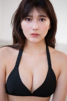 Haruka Arai Black Swimsuit Bikini Stylish and Cute 2021010