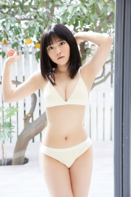 Ayumu Okada Swimsuit Bikini Gravure Not Just Cute Vol3 2021007