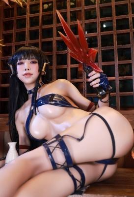 Swimsuit Bikini Gravure Woman Tengu Dead or Alive 5 Ultimate010