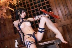 Swimsuit Bikini Gravure Woman Tengu Dead or Alive 5 Ultimate019