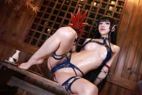 Swimsuit Bikini Gravure Woman Tengu Dead or Alive 5 Ultimate021