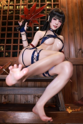 Swimsuit Bikini Gravure Woman Tengu Dead or Alive 5 Ultimate022