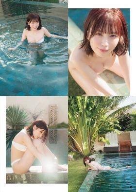 Rin Miyauchi Swimsuit Bikini Gravure Under the Same Sky 2021002