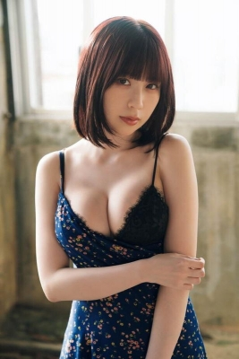 Rin Miyauchi Swimsuit Bikini Gravure Under the Same Sky 2021010