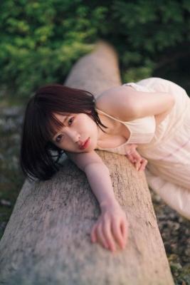 Rin Miyauchi Swimsuit Bikini Gravure Under the Same Sky 2021012