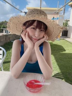 Rin Miyauchi Swimsuit Bikini Gravure Under the Same Sky 2021021