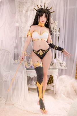 Swimsuit Bikini Gravure Ishtar FateGrand Order FateGrand Order Cosplay006