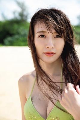 Yukari Oshima Swimsuit Bikini Gravure Monologue 2021004