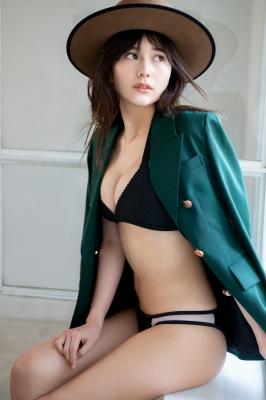 Haruka Arai Black Swimsuit Bikini Stylish and Cute Vol2 2021002