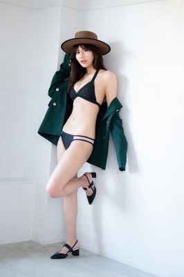 Haruka Arai Black Swimsuit Bikini Stylish and Cute Vol2 2021004