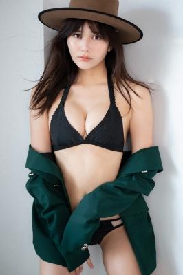 Haruka Arai Black Swimsuit Bikini Stylish and Cute Vol2 2021006