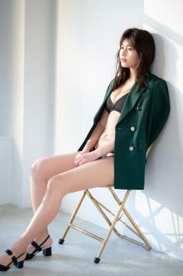 Haruka Arai Black Swimsuit Bikini Stylish and Cute Vol2 2021007