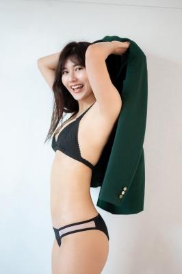 Haruka Arai Black Swimsuit Bikini Stylish and Cute Vol2 2021008
