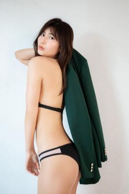 Haruka Arai Black Swimsuit Bikini Stylish and Cute Vol2 2021009