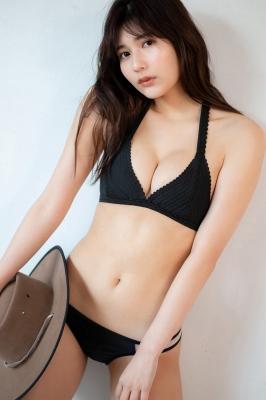 Haruka Arai Black Swimsuit Bikini Stylish and Cute Vol2 2021010