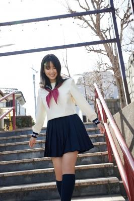 Aika Sawaguchi Swimsuit Bikini Gravure High School Graduation Memorial Vol2 2021009