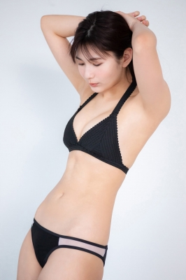 Haruka Arai Black Swimsuit Bikini Stylish and Cute Vol3 2021002