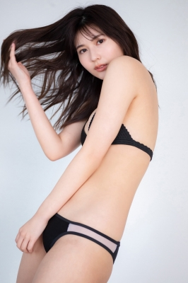 Haruka Arai Black Swimsuit Bikini Stylish and Cute Vol3 2021003