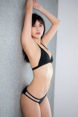Haruka Arai Black Swimsuit Bikini Stylish and Cute Vol3 2021005