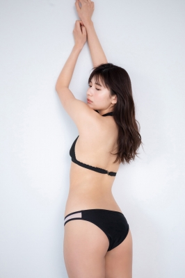 Haruka Arai Black Swimsuit Bikini Stylish and Cute Vol3 2021007